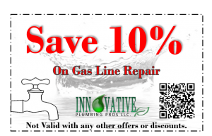 Las Vegas Gas Line repair coupon