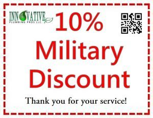 Plumbing Discounts - 10% Military Discount Coupon