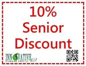 Plumbing Discounts - 10% Senior Discount Coupon