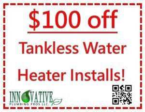 Plumbing Discounts - $100 Off Water Heater