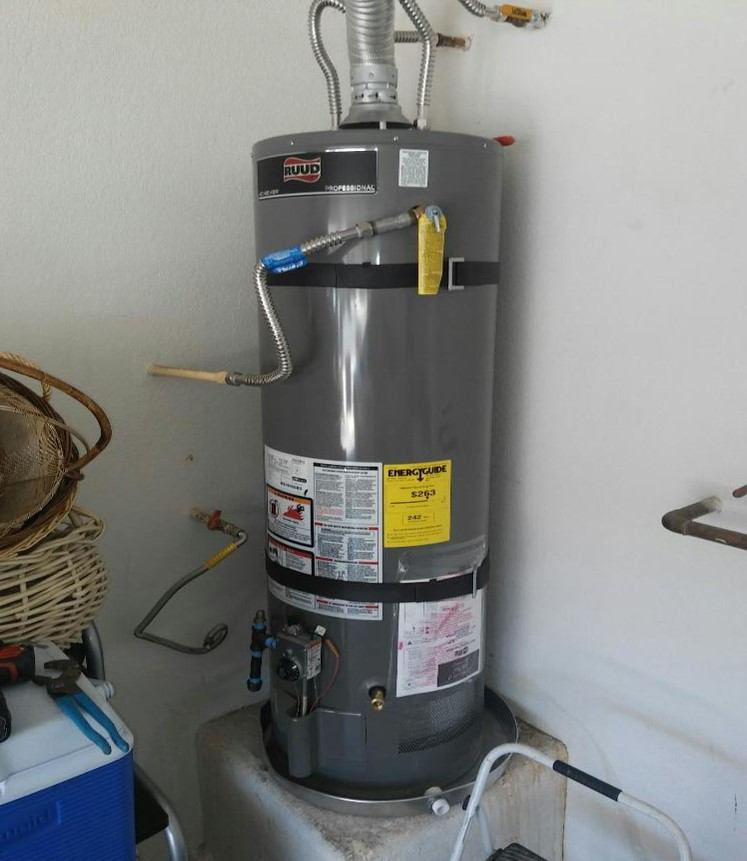 water heater installed - las vegas pumbers