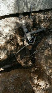 Before Sewer Repair
