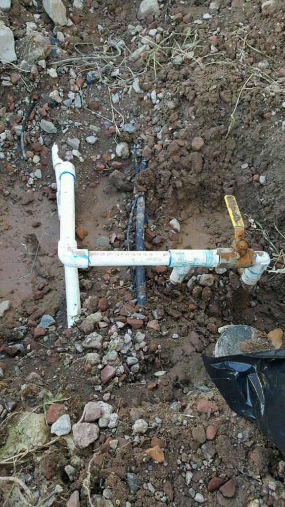 Broken Water Line