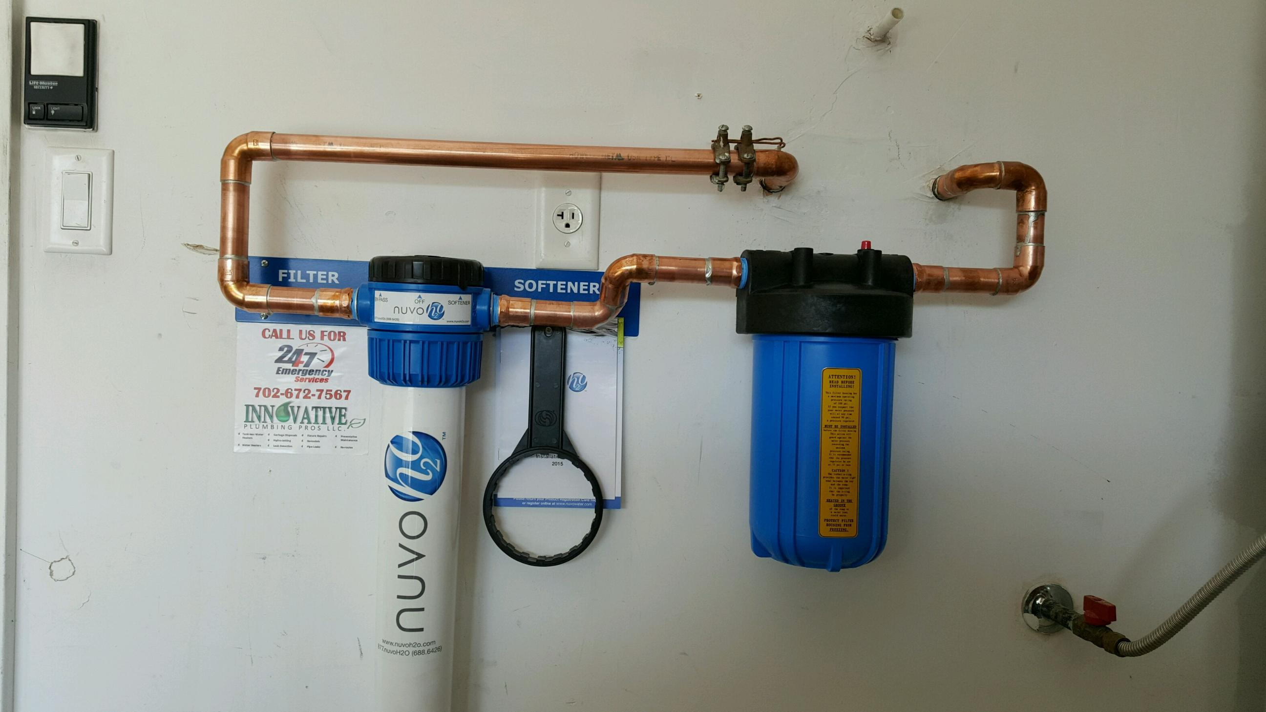 Water Softeners Installed By Our Plumber Innovative