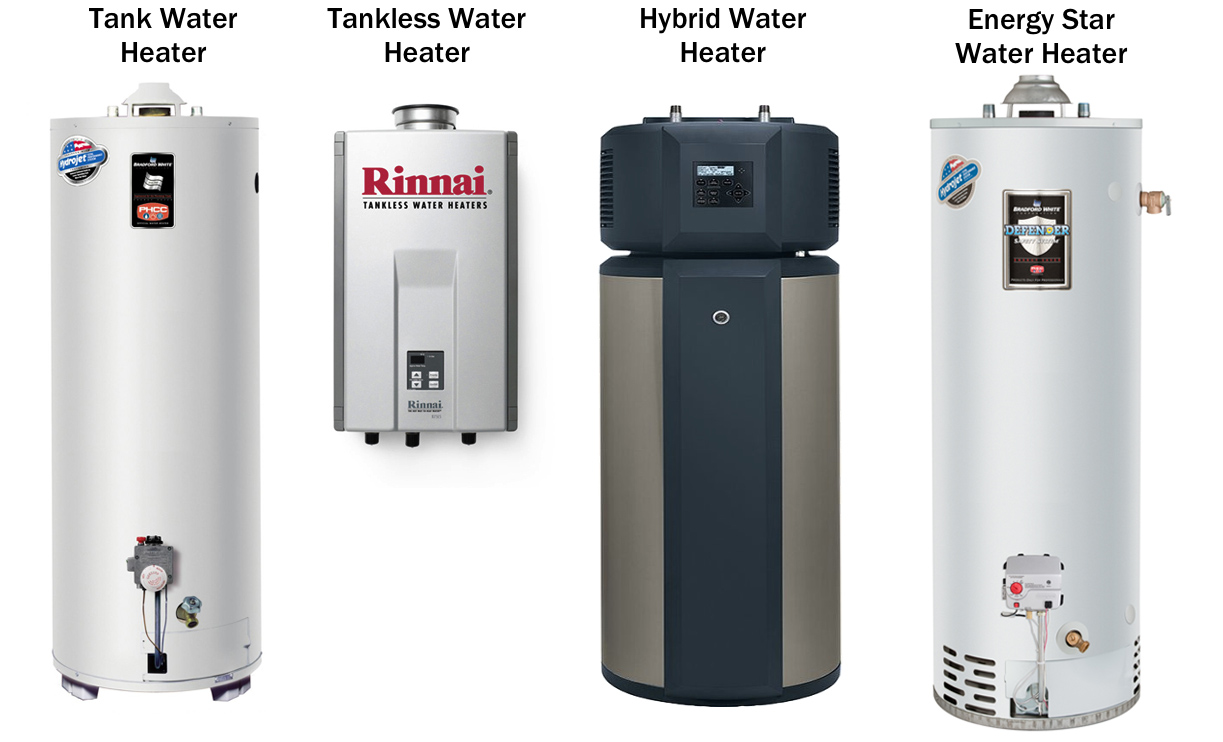 Deciding Between A Standard or Tankless Water Heater from a Plumber in Las Vegas