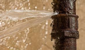 plumbing - bursted pipe