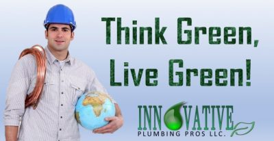 Plumbers Raising Awareness for Earth Day