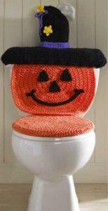 Plumbing - Halloween toilet
