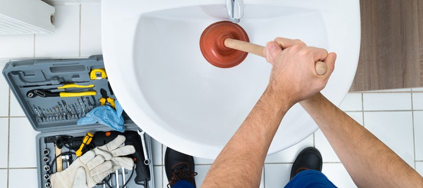Plumber repairs clogged drain in Valley View, Henderson, NV