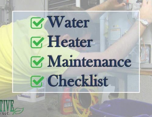 Water Heater Maintenance Checklist