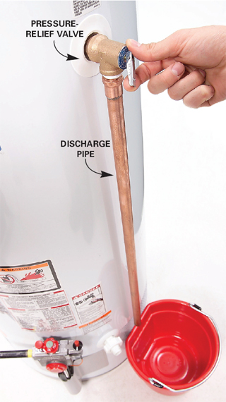 plumber-shows-tpr-valve-on-water-heater