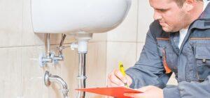 Plumbing-inspecting